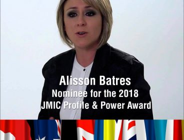 Alisson Batres nominada para el JMIC Profile & Power Award 2018